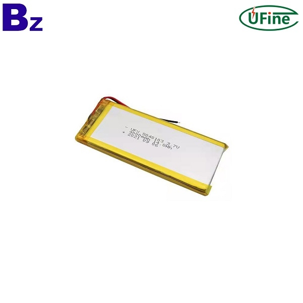 폴리머 리튬 이온 배터리의 장점