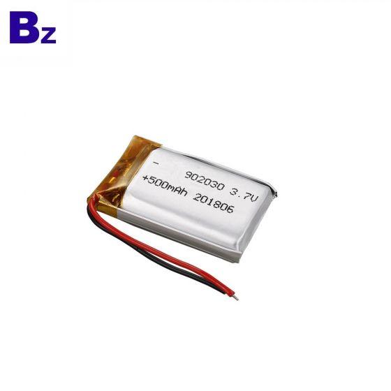 3,7V 500 mAh 902030 Li Polymer Akku Battery