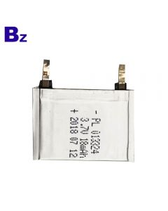 Best Lithium Battery Supplier Customized Super Thin Battery for Smart Wearable Device BZ 013324 18mAh 3.7V Polymer Li-Ion Battery
