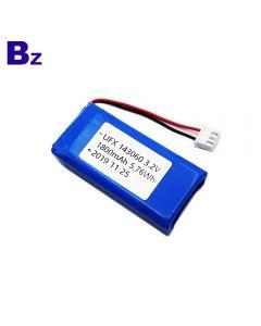 Factory In Stock Supply For Smart Helmet Battery UFX 143060 1800mAh 3.2V LiFePO4 Battery