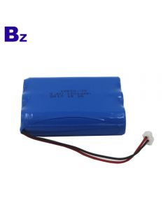 China Battery Manufacturer Customized Battery for Sweep Meter 18650 3S 1200mAh 9.6V Rechargeable LiFePO4 Battery Pack