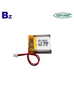 2021 Year Best Battery Manufacturer Wholesale Smart Remote Controller Lipo Battery UFX 492121 150mAh 3.7V Li-Polymer Battery
