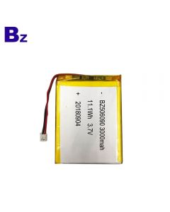 Customized Lipo Battery for Electronic Beauty Device BZ 506090 3000mAh 3.7V Rechargeable Lithium Ion Battery With KC Certification