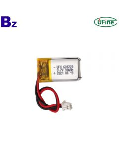 Hot Sale Rechargeable For Heating Insole Lipo Battery UFX 601220 90mAh 3.7V Lithium Polymer Battery