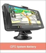 GPS 시스템 배터리