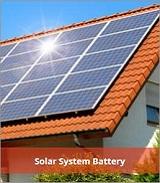 태양 광 시스템 배터리