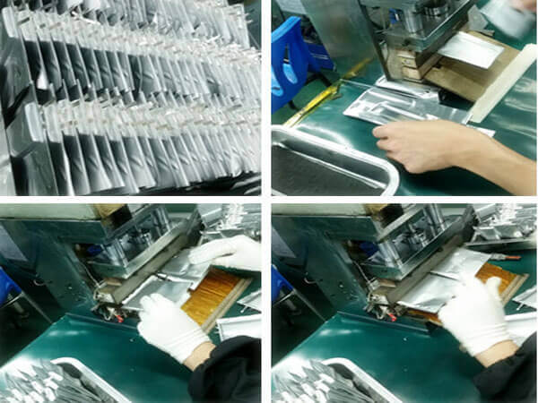 li-ion Battery Cell packaging