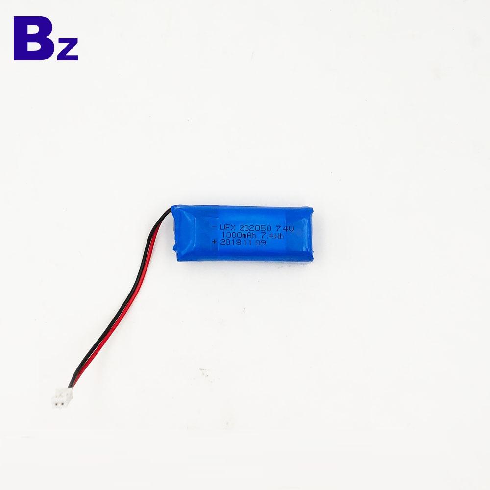 BZ 102050 2S 1000mAh 7.4V LiPo Battery