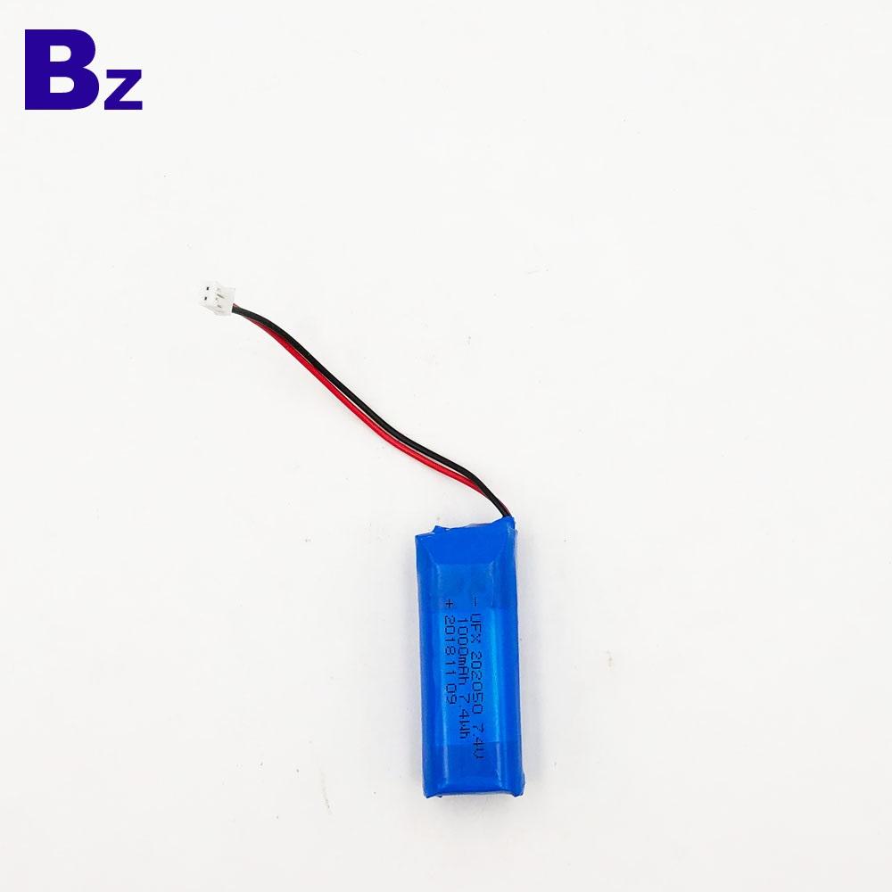 102050 2S 1000mAh 7.4V LiPo Battery