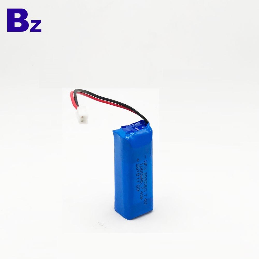 KC Certification Battery 202050 1000mAh 7.4V