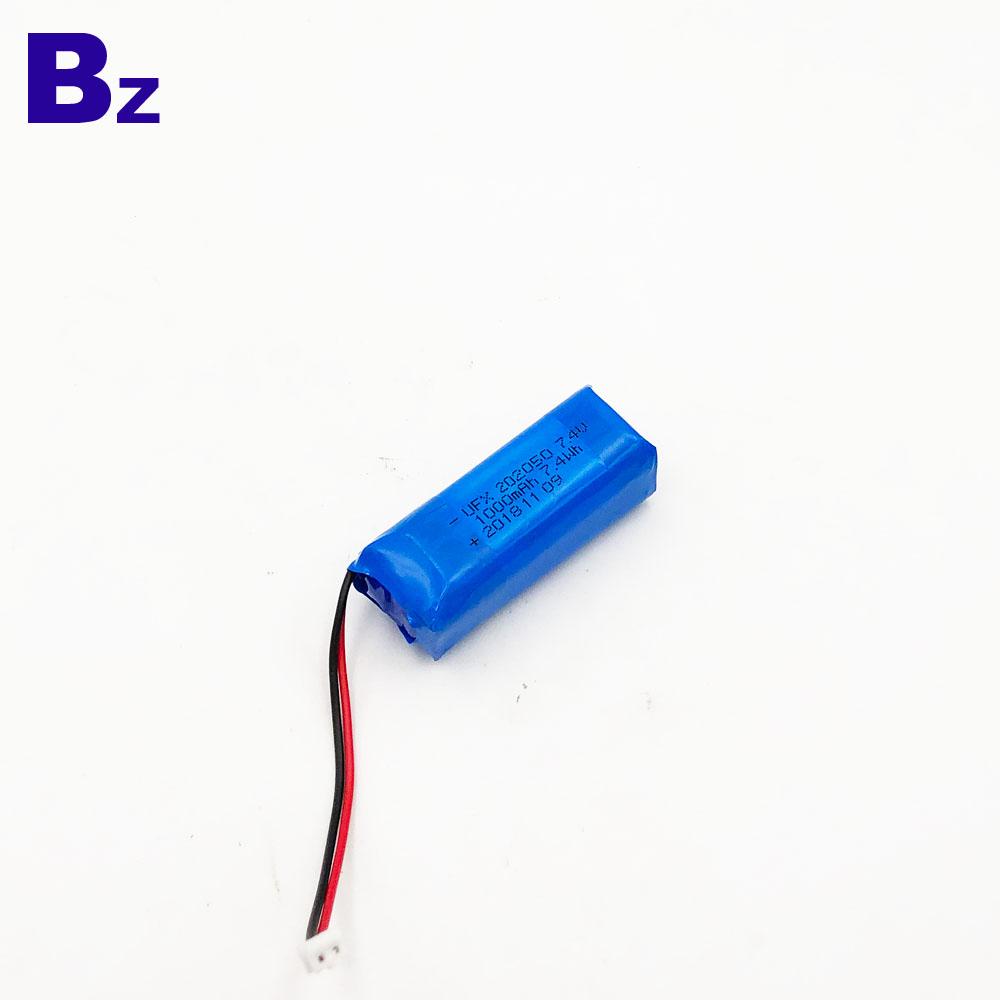 1000mAh 7.4V Li-ion Battery for Microphone