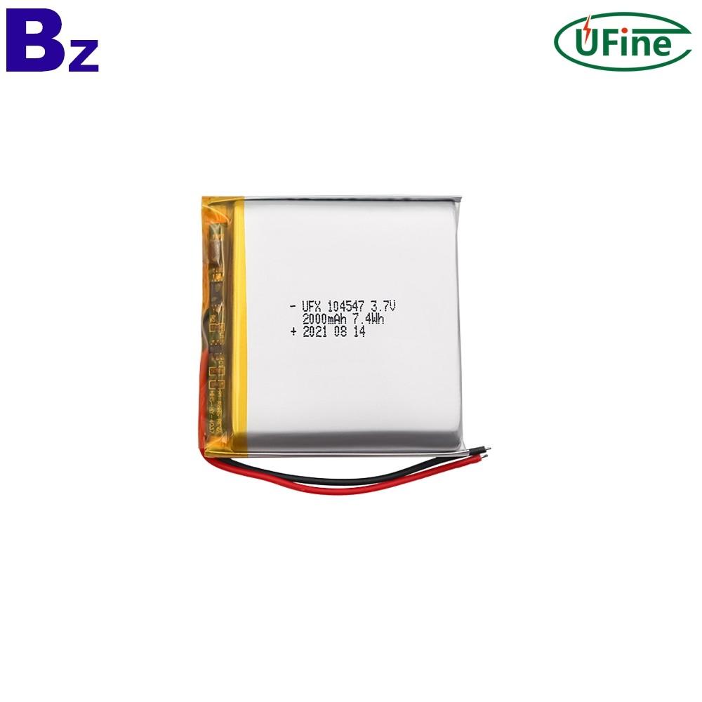 Lipo Cell Manufacturer Wholesale 2000mAh Batteries
