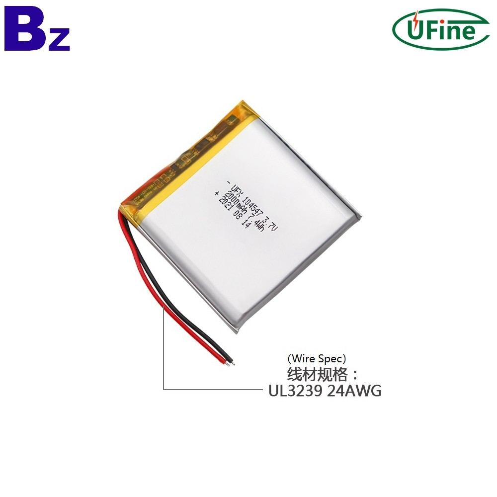 2000mAh Battery for Medical Device