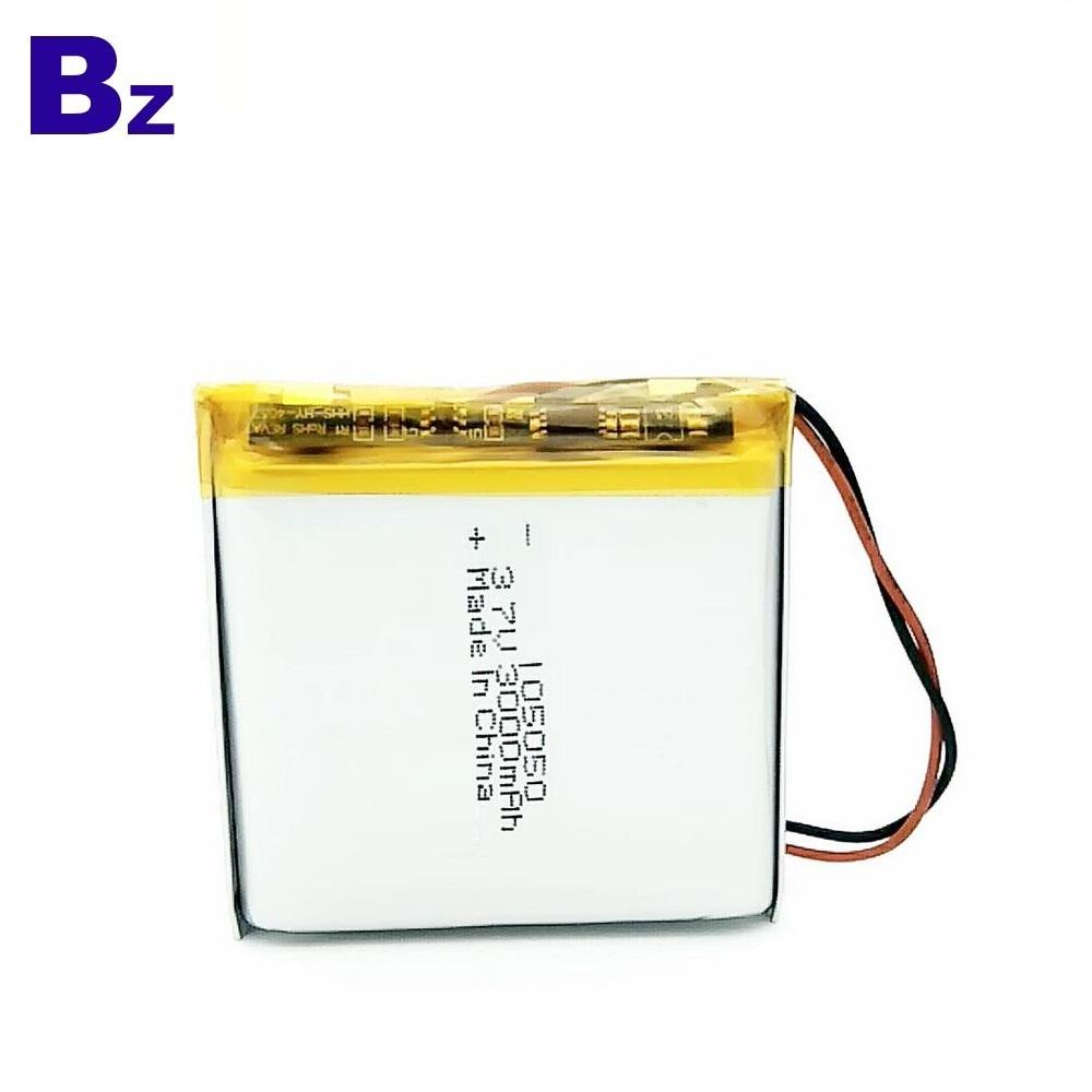 105050 3000mAh 3.7V UL Certified Li-ion Battery