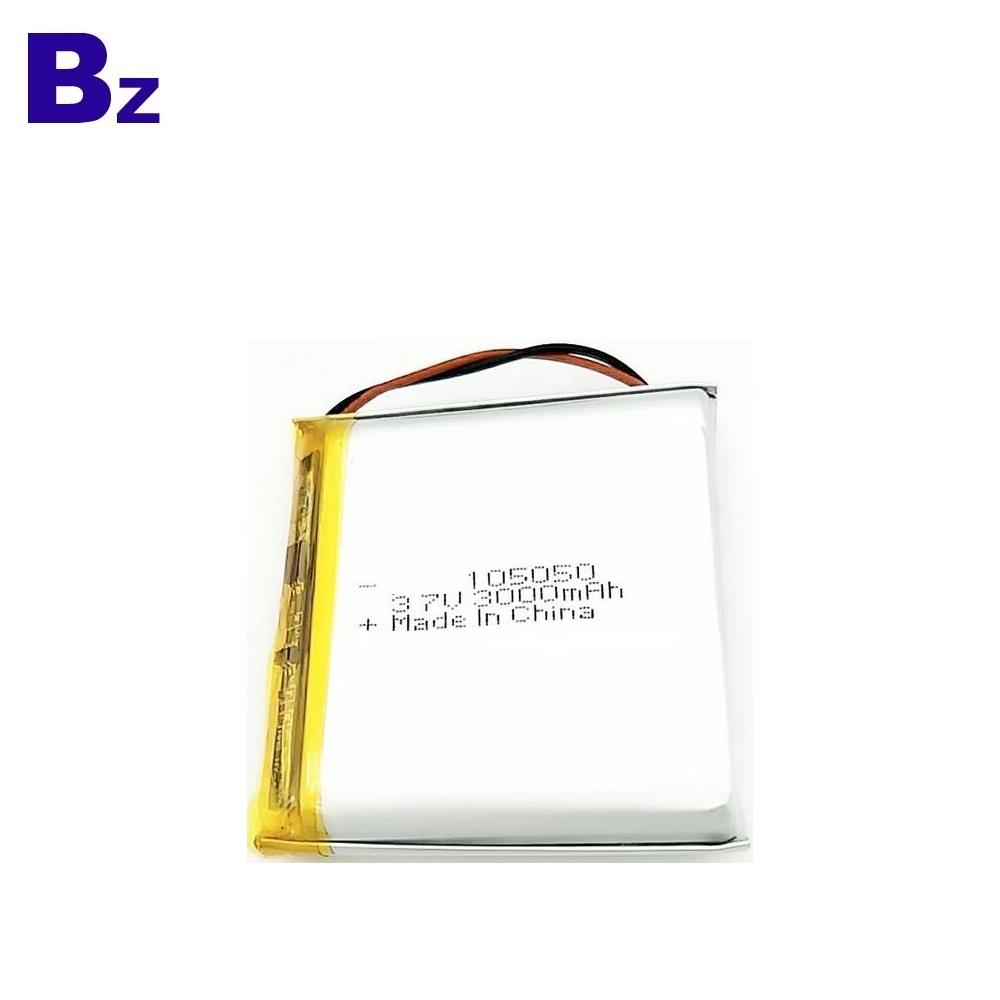 KC Certification Lipo battery 105050 3000mAh