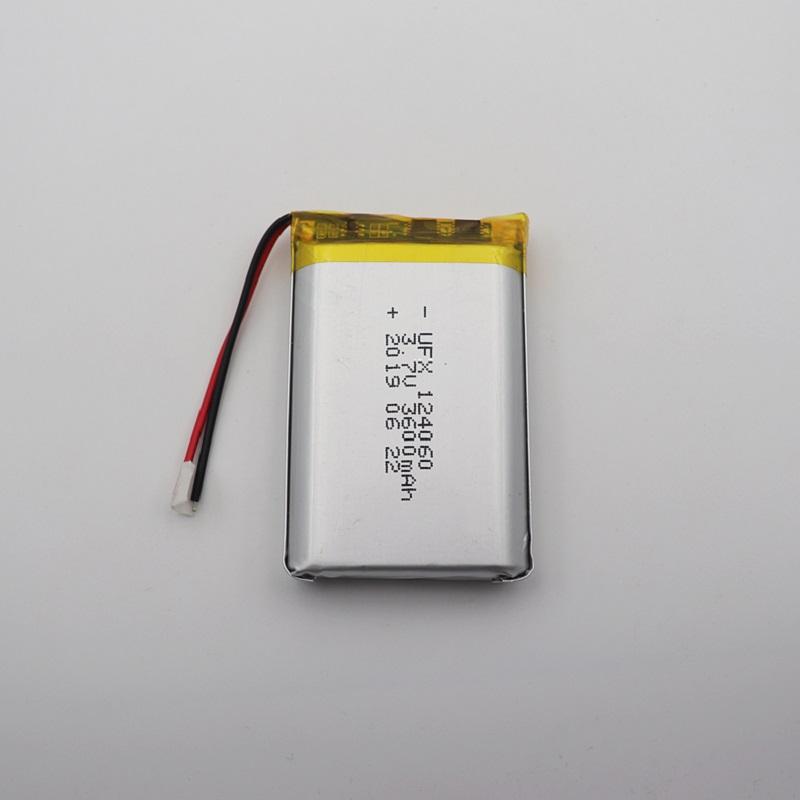 3600mah 3.7V Lipo Battery Pack