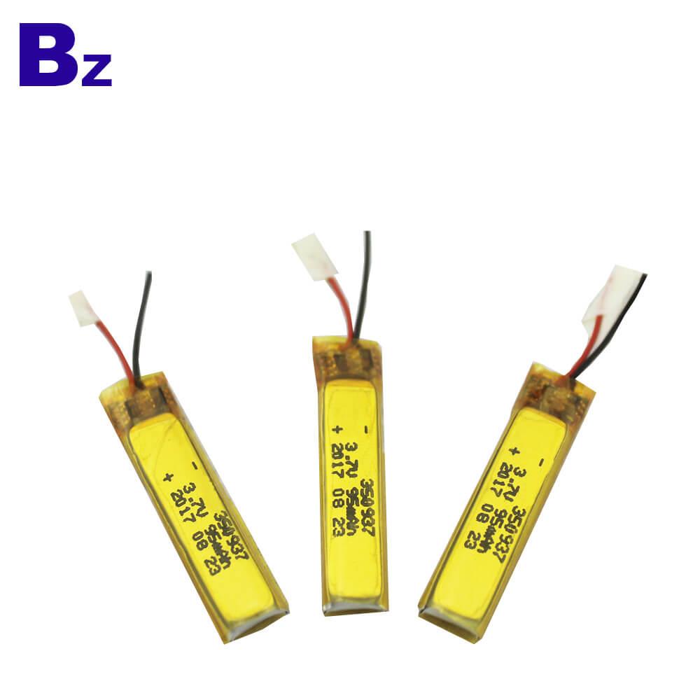 350937 95mAh 3.7V Li-Polymer Battery