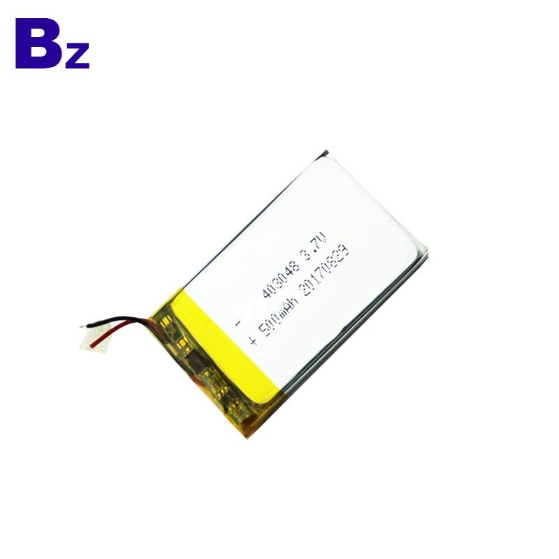 Customized Li-Polymer Battery 500mAh