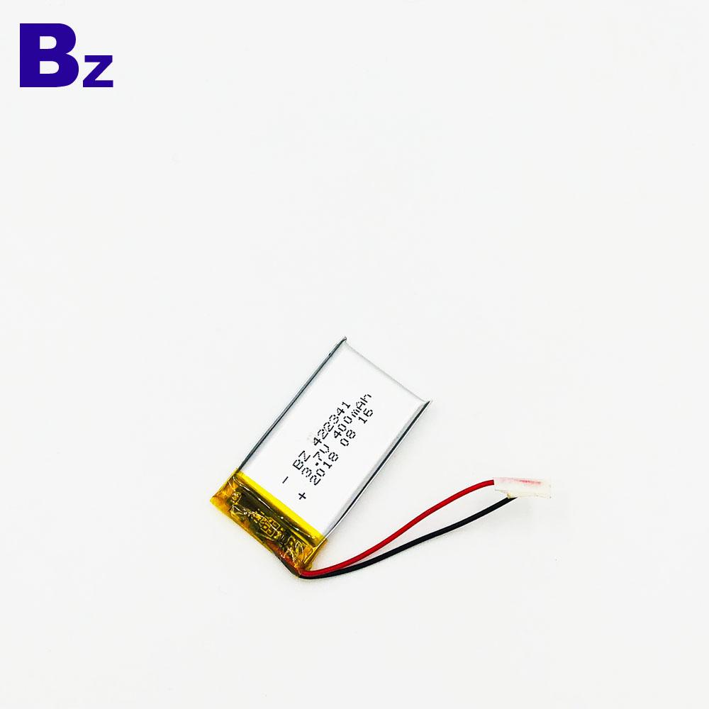 422341 400mAh 3.7V Lipo Battery
