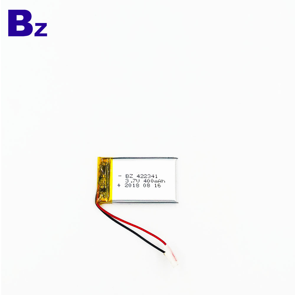 400mAh 3.7V Customized Battery