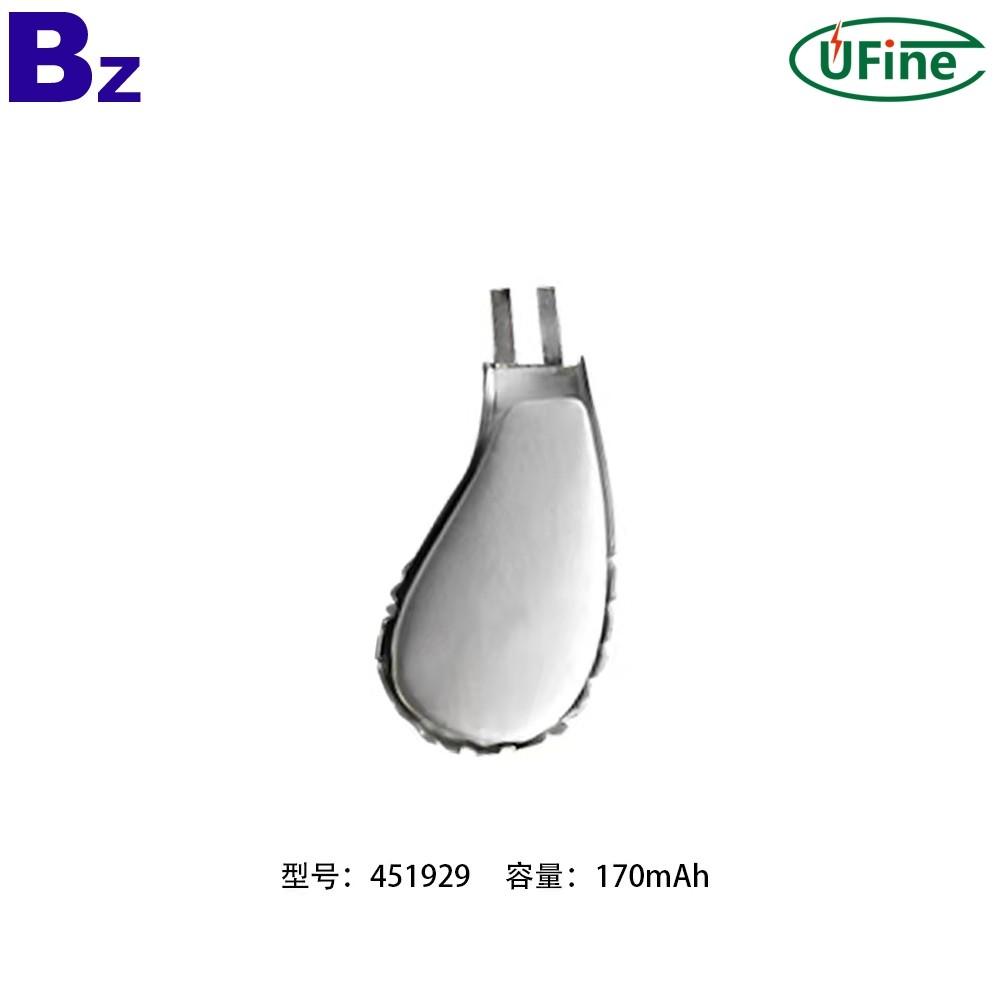 451929 170mAh 3.7V Lithium Polymer Battery