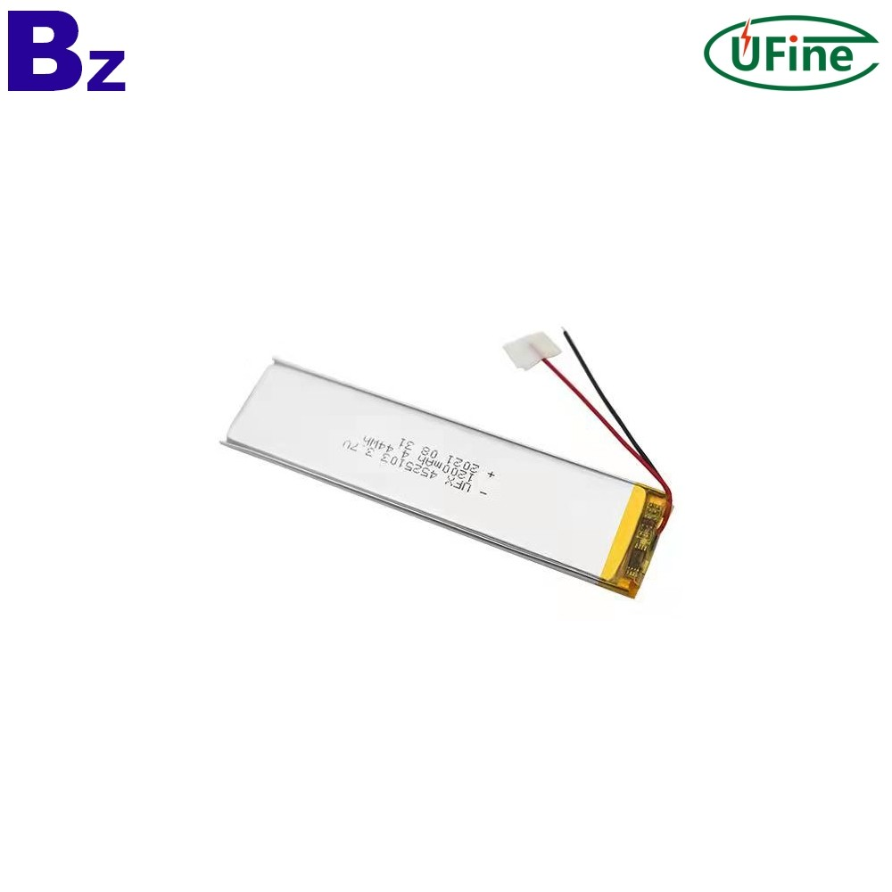 Lithium Cell Manufacturer Wholesale 1200mAh Battery