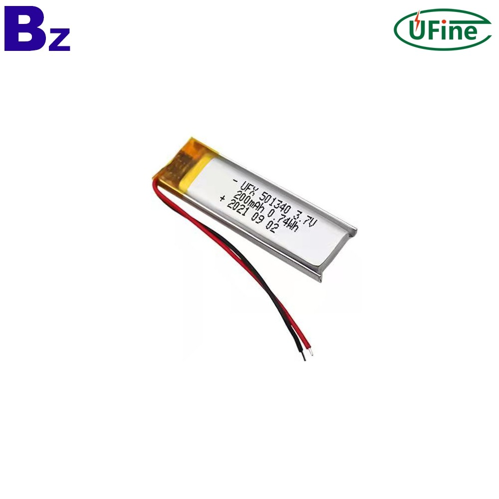 Lithium-ion Cell Polymer Manufacturer Supply 200mAh Battery