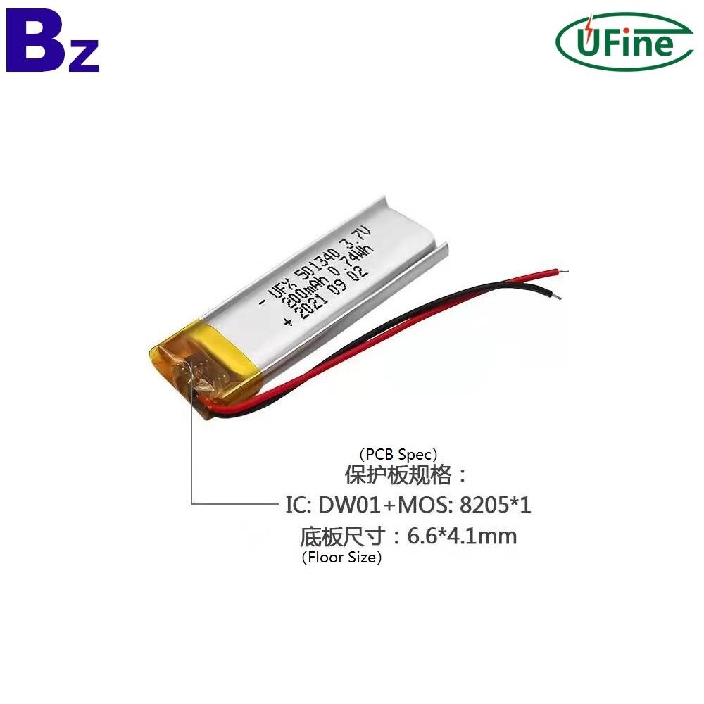 200mAh Smart Wearable Device Battery