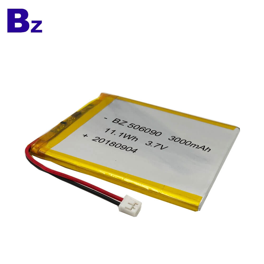 3000mAh Lithium Ion Battery With KC Certification
