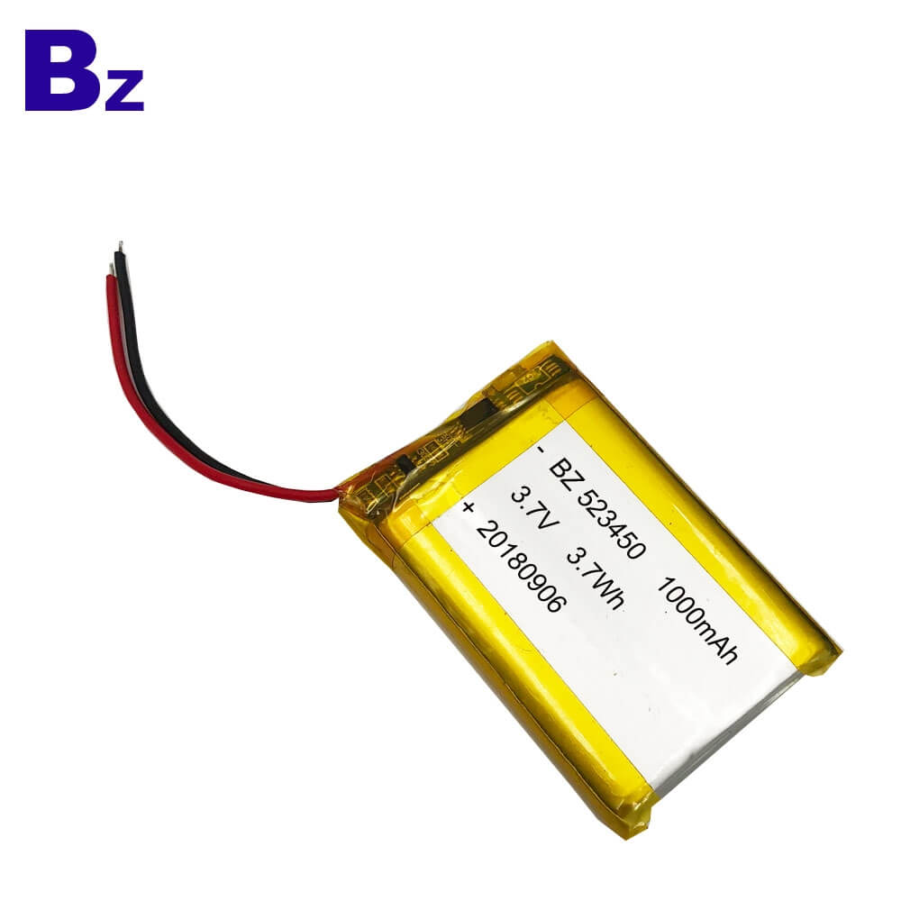 1000mAh Lipo Battery with KC Certification