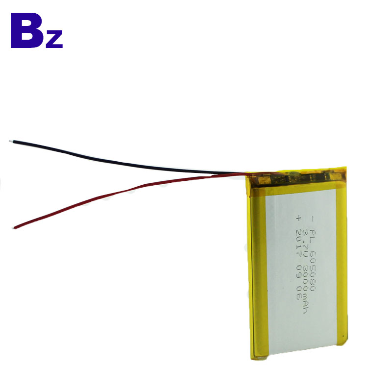 BZ 605080 3000mAh 3.7V LiPo Battery