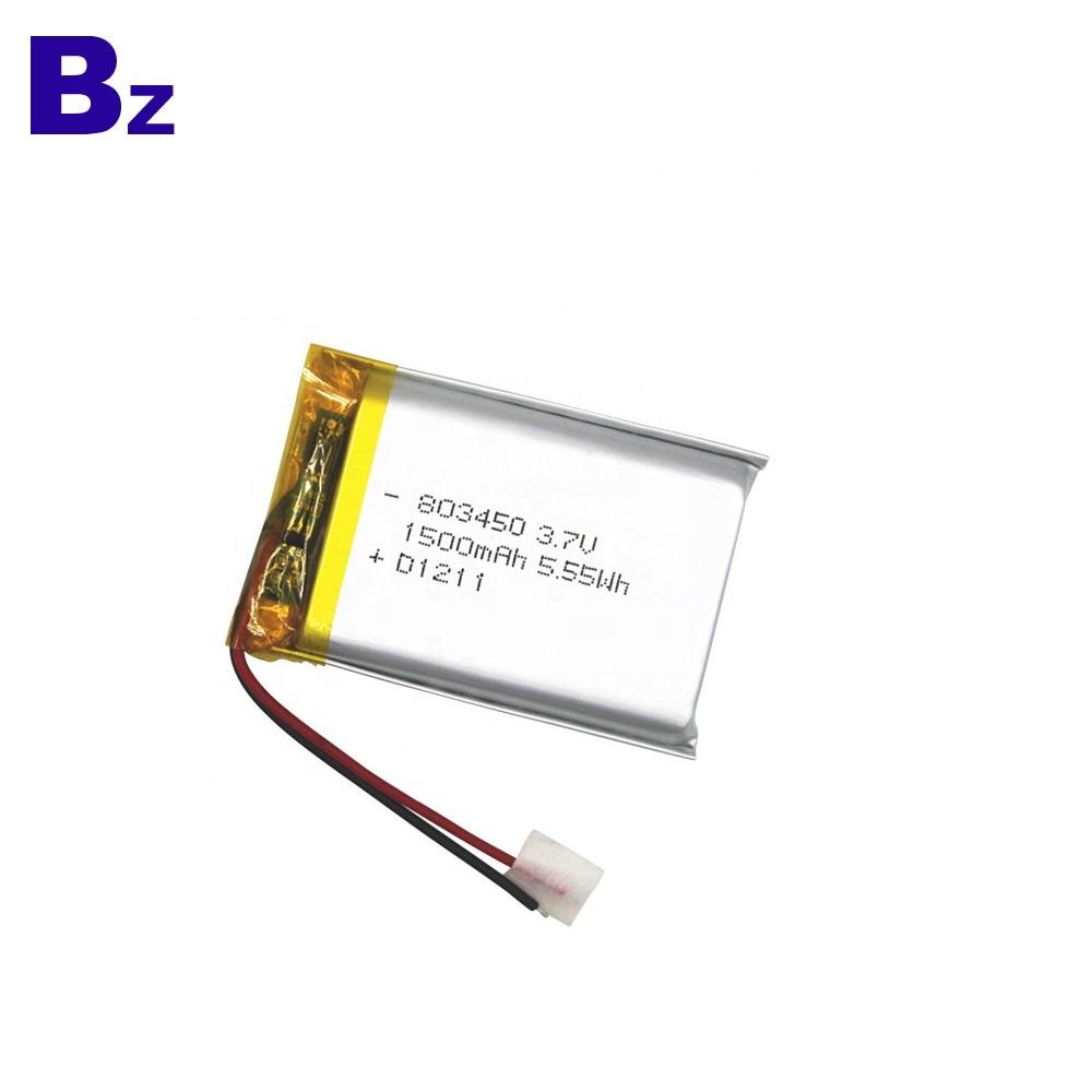 1500mAh Li-ion Battery with KC Certificate