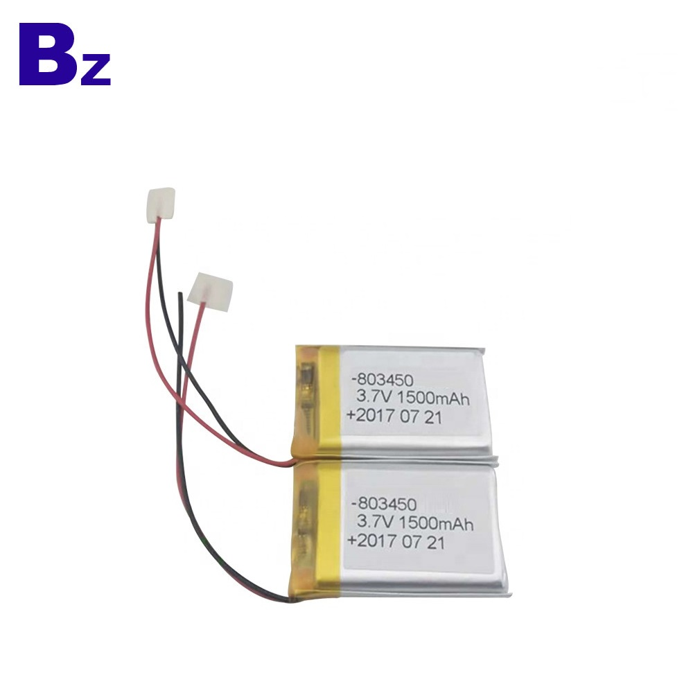 803450 Lithium Battery with UL Certificate