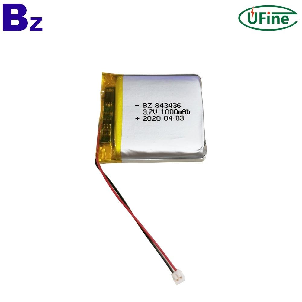 1000mAh 3.7V Digital Camera Battery