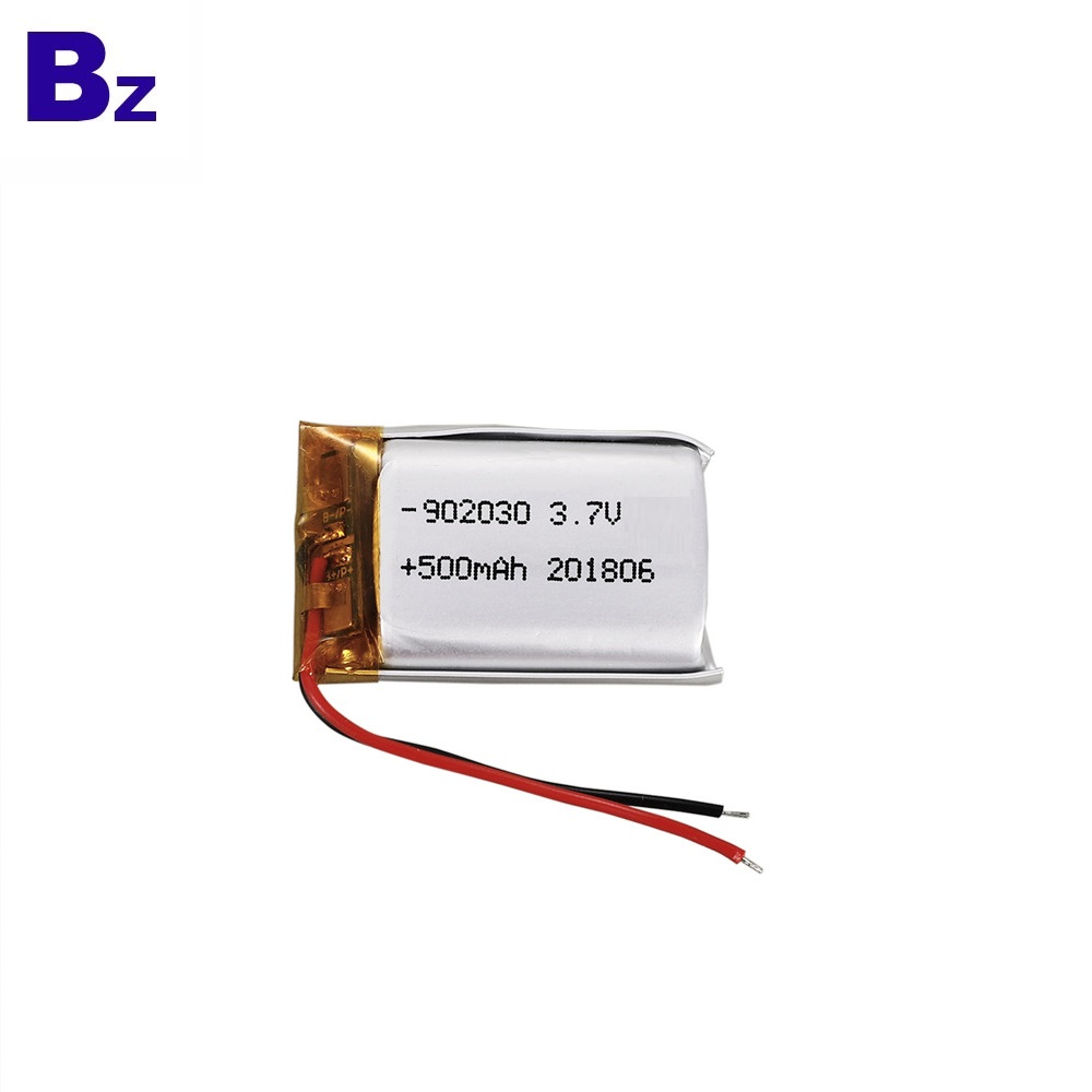 BZ 902030 500mAh 3.7V LiPo Battery