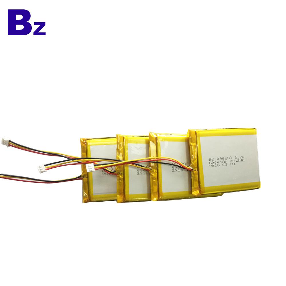 Hot Sells Li-Polymer Battery 6000mAh