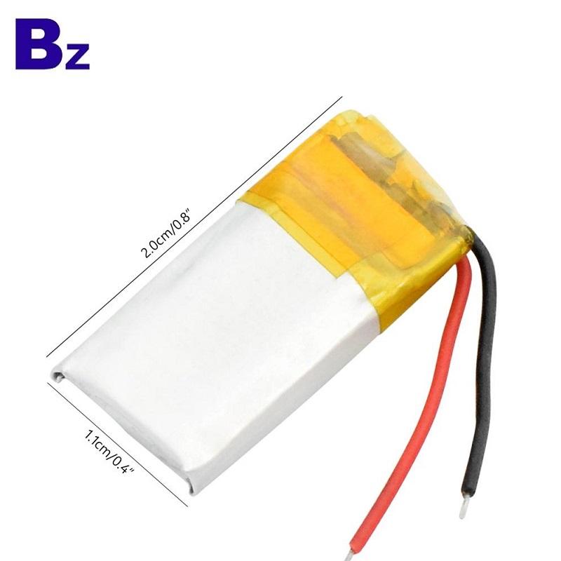 401120 55mAh 3.7V Li-polymer Battery
