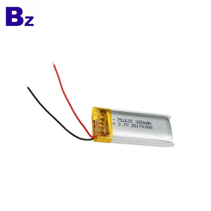 380mAh Battery For Intelligent Wearable Device