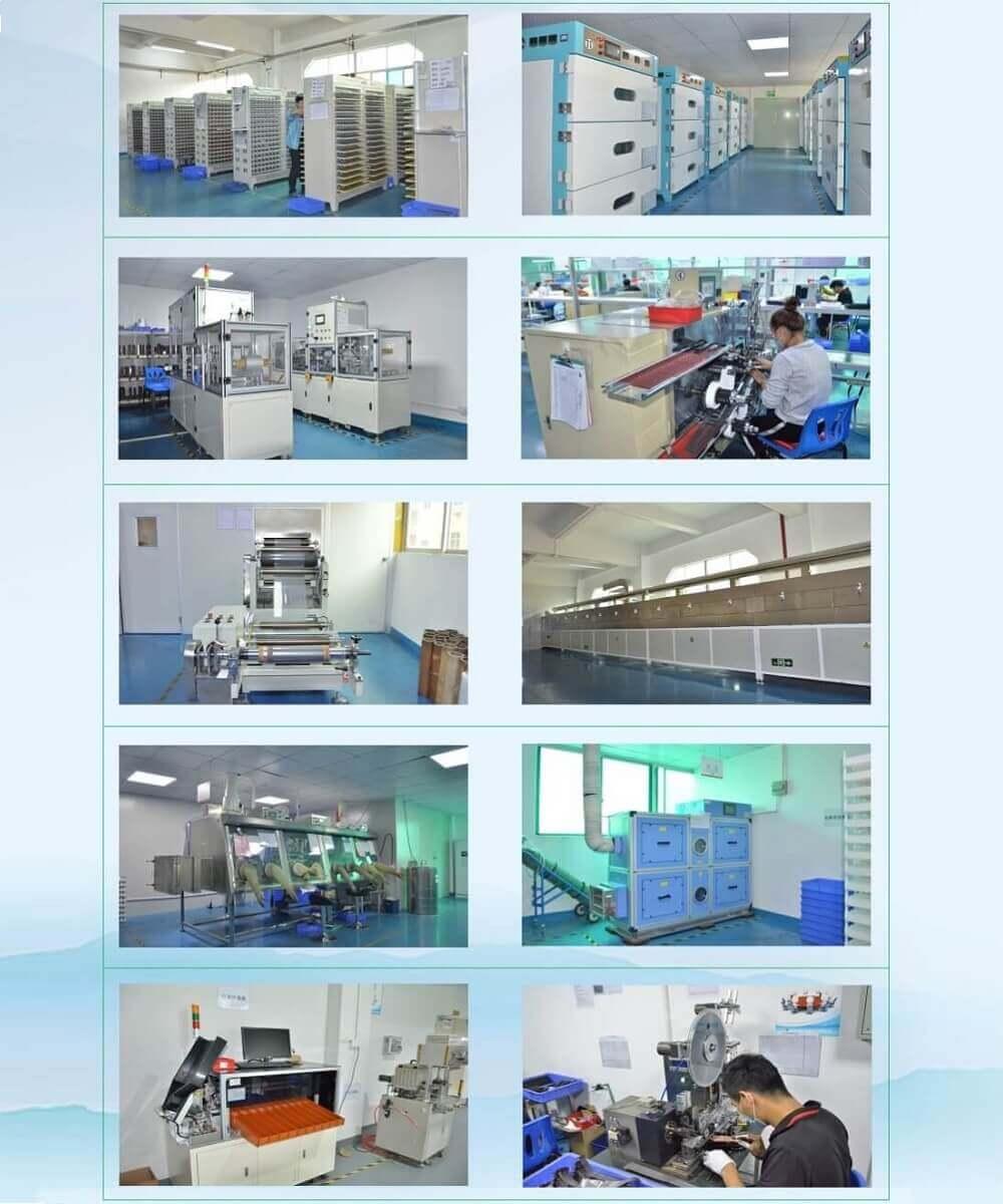 리튬 이온 배터리 공장