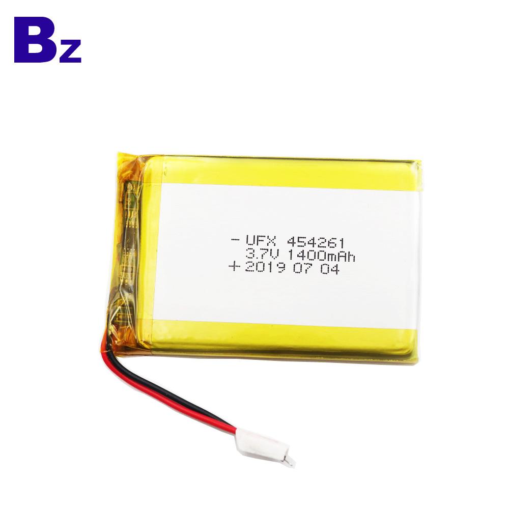 1400mAh  Li Polymer Battery