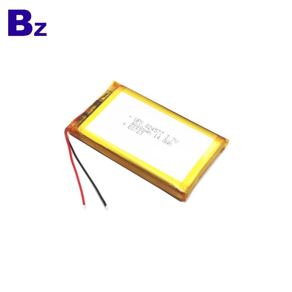 824577 4000mAh 3.7V li-Polymer Battery