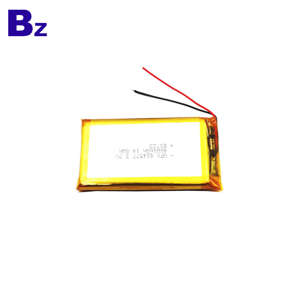 4000mAh  li-Polymer Battery With Wire