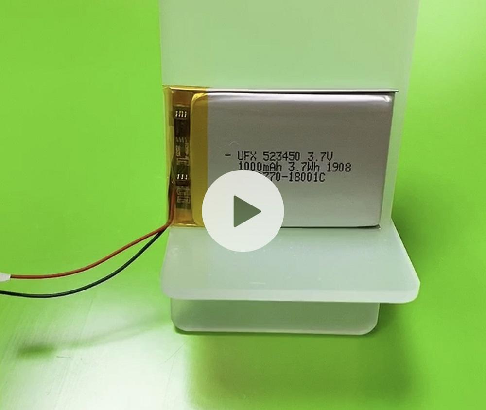 ufx 523450 1000mAh 3.7V Lipo Battery with KC Certification