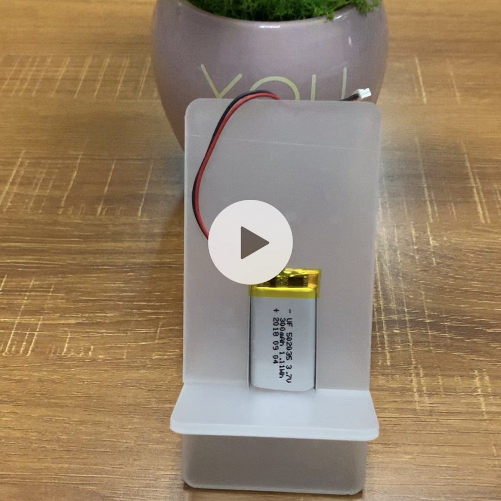 502035 300mAh 3.7V Polymer Li-ion Battery